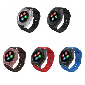 Умные часы Smart Watch Fitness Smart Bracelet - Z3, красный