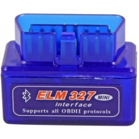 Адаптер Elm327 Bluetooth micro синий v1.5